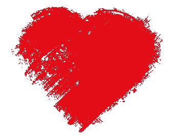 Was ich an dir liebe - Herz - Transparent