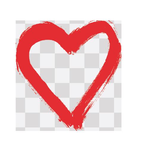 Was ich an dir liebe - Herz 2 - Transparent