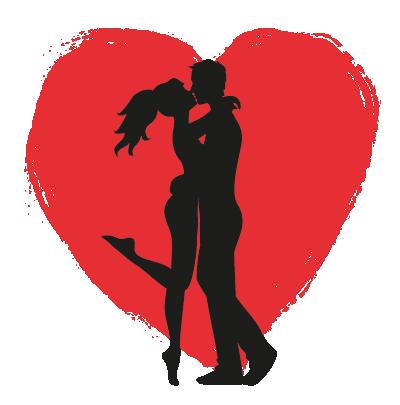 Was ich an dir liebe - Paar - Transparent